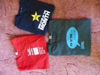 3 BN without tags plain lazy T-shirts size large