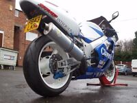 SUZUKI GSXR 600 SRAD JAMES HAYDON CLARION RACE REPLICA