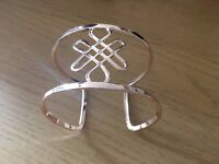 Birthstone Bangles - gold plated