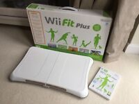 Nintendo Wii Fit Balance Board in box with Wii Fit
