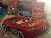 Lightning McQueen room accessories