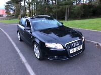 STUNNING 2006 56 AUDI A4 S LINE TDI MOTED AUG 19 FULL SERVICE HISTORY PX WELCOME £2396