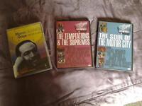 """3 Ed Sullivan """"Rock and Roll Classics"""" DVD's VARIOUS EARLY MOTOWN LEGENDS."""