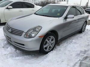 2004 Infiniti G35 Luxury, Automatic, Leather, Sunroof, AWD