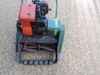 Three Suffolk Colt Petrol lawnmowers - Abandoned restoration projects