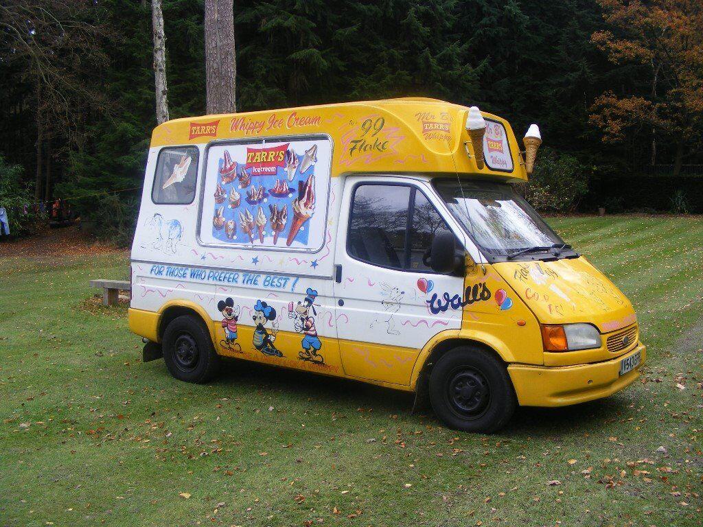 1999 Ford Transit Ice Cream Van Brockfield Conversion Coldelite Machine Ready For Work