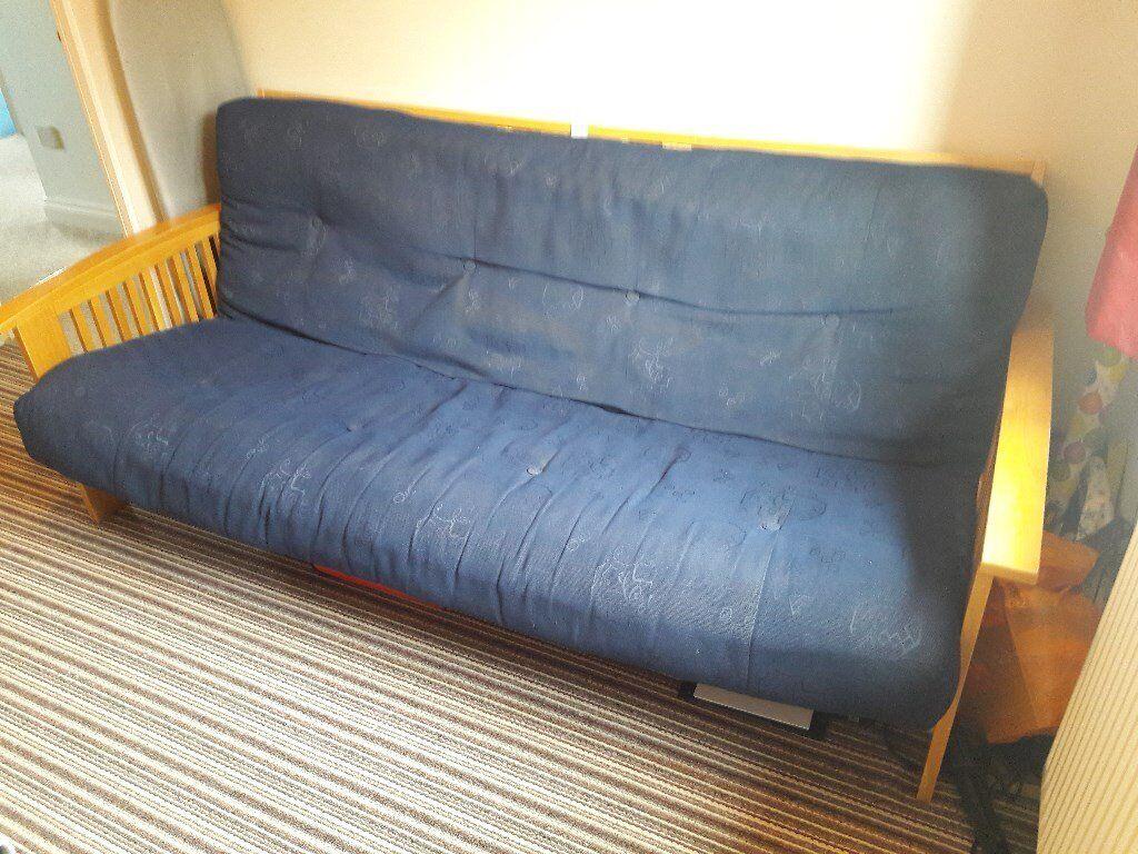 Pine Futon Sofa Bed