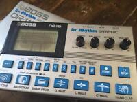 Boss DR-110 dr. Rhythm Analog Drum Machine