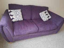 Fibre Sofabed plus Cushions