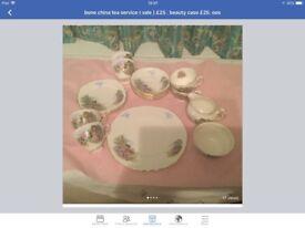Bone China tea service ( Vale )