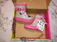 Brand new joules Wellies size 5 infant