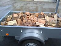 Firewood by trailer load