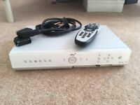 Sky Box with Remote and leads