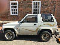 Daihatsu sportrak, MOT until jan 2018. £600