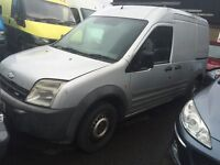 FORD TRANSIT CONNECT T230 TDCI LWB 2004 SILVER LONG SPARES OR REPAIRS