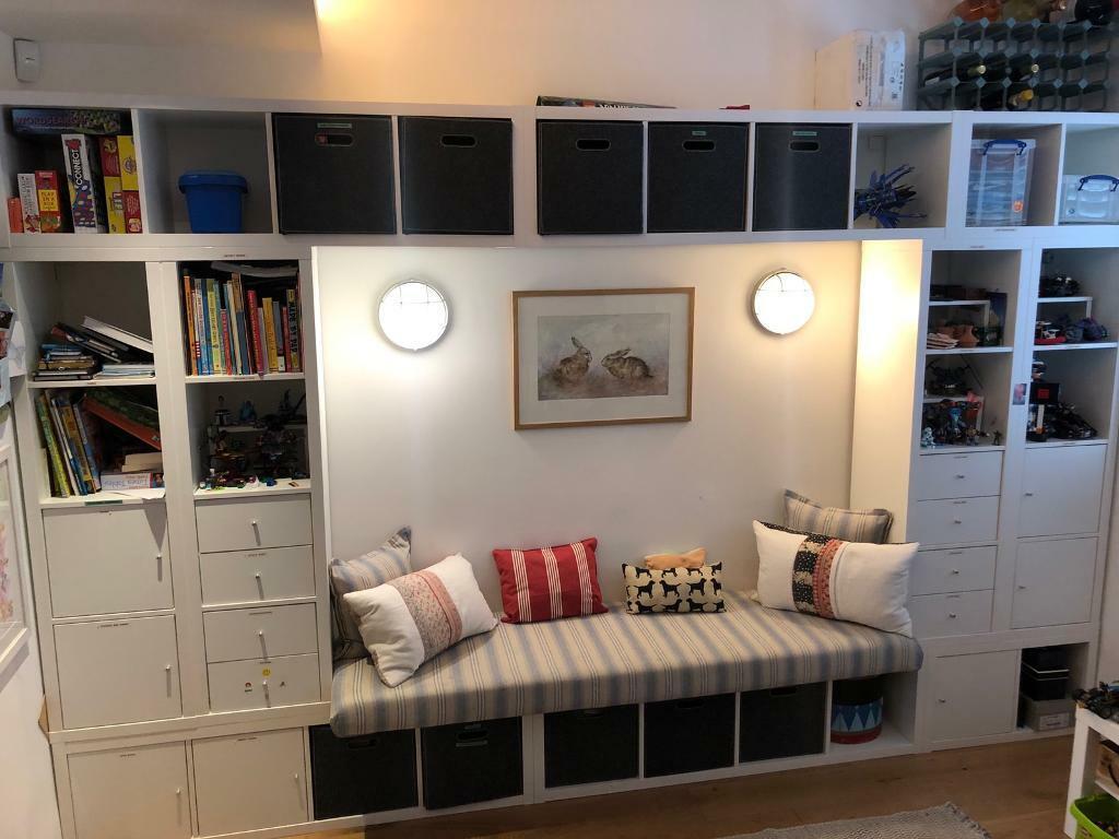 pretty nice 2ae77 29fc5 Playroom storage units / shelving units. Ikea Kallax   in ...