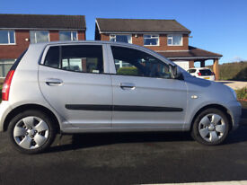 Kia Picanto - Silver, 1L, 5 door, Petrol Hatchback with Manual Transmission