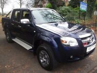 Mazda BT-50 2.5 TD TS2 Double Cab Pickup 4X4 4dr£4,200 FUL WARTY, NEW MOT, WORK HORSE 2007 Pickup