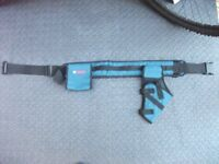 BOSCH TOOL BELT POUCH AND TOOL BELT DRILL COMPARTMENT