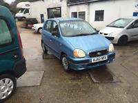 Hyundai Amica 999cc reliable economical ideal 1st car FULLMotServiceCambeltWarranty all included