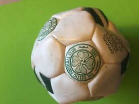 Signed Celtic football for sale