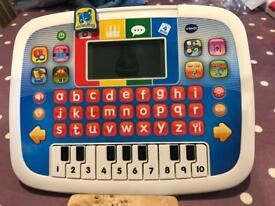 V Tech piano game learn letters and numbers