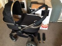 i candy peach 2 pushchair & carry cot