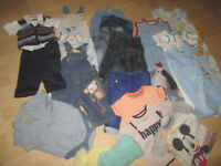 BABY BOYS CLOTHES SELECTION
