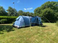 Khyam Montpellier 6. 6 berth tent