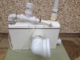 3 in 1 saniflo discharge pump