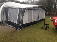 6 berth awning tamar