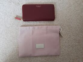 Radley berry red large purse