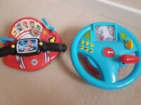 Acticity toys Paw Patrol and race car