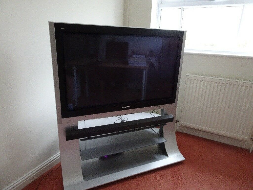 Panasonic Viera Hd Ready Plasma Tv And Stand 42 Inches In