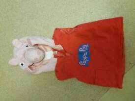 Peppa pig fancy dress cosyume approx 1-4 years