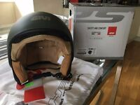 Givi 10.9 Easy-J Helmet ~ Green Matt ~ Size M = 57-58cm BNWT!