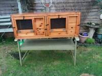 Guinea pig/small rabbit breeder hutches
