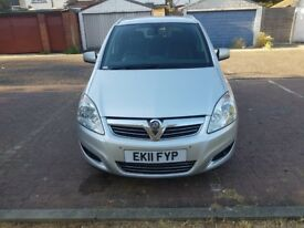 2011 Vauxhall Zafira 1.7 TD ecoFLEX 16v Design 5dr Manual @07445775115