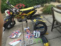 140 CC Race Tuned Pit Bike