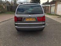 2004 Seat Alhambra 1.9 TDI PD SX 5dr Manual @07445775115 Full HPI Clear 1 Former Keeper