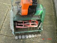 Not Running / Spares - Qualcast Petrol Cylinder Grass Mower - Good For Spares Your Own Mower