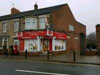 FREEHOLD Convenience Store and Post Office with 2 Bed flat above.