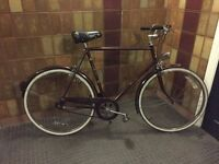Vintage Raleigh Courier Bike