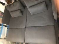 Ikea Samstra SÖDERHAMN Sofa Dark Grey