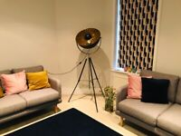 Qazqa floor lamp -in person collection ONLY
