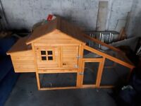 Wooden chicken coop only 6 months old
