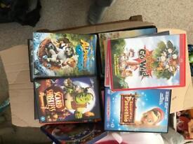 Tones of kids dvds all working top titles