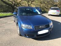 AUDI A3 2.0TDi SE 140ps With new M.O.T.