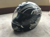 FM motorcycle helmet medium and RST gloves small