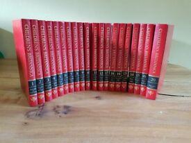 Childrens Encyclopedia Btitannica (full set of 20 volumns)